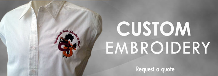 EMBROIDERY IN HOUSTON, EMBROIDERY IN WOODLANDS